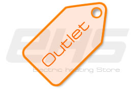 Outlet of electric heating blankets