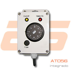 AT056: analog thermostat 0-90 ° C