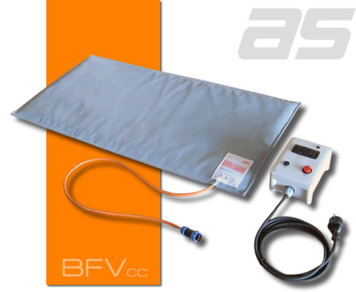 Heating blanket for curing epoxy resins, composites, COAT