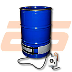 Drum heater for drums of 100 Litres